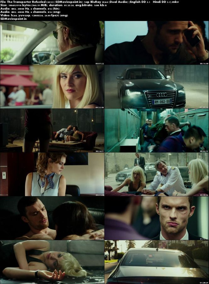 Screen Shots The Transporter Refueled 2015 Full HD Movie Download Dual Audio