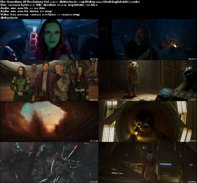 Screen Shots Guardians of the Galaxy: Vol. 2 2017 Full Movie Download Dual Audio