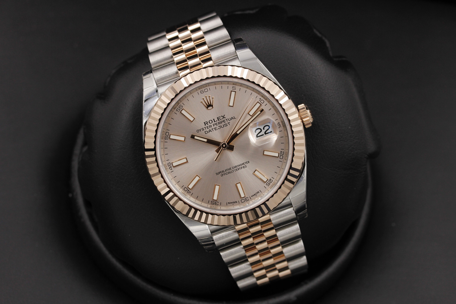 Rolex Datejust 41 126331 Stainless Steel Rose Gold