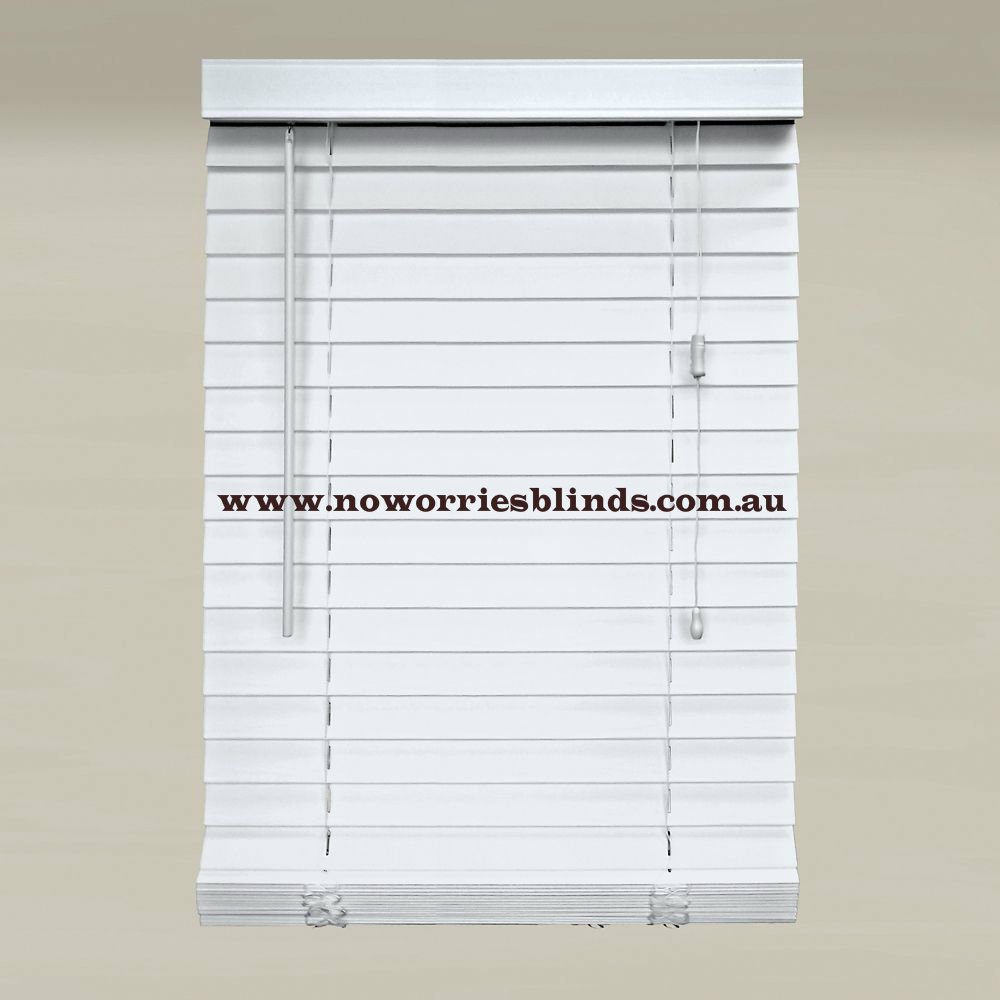 White Timber Blinds New Ready Made 50mm Basswood Timber Venetian Blind Blinds Wood