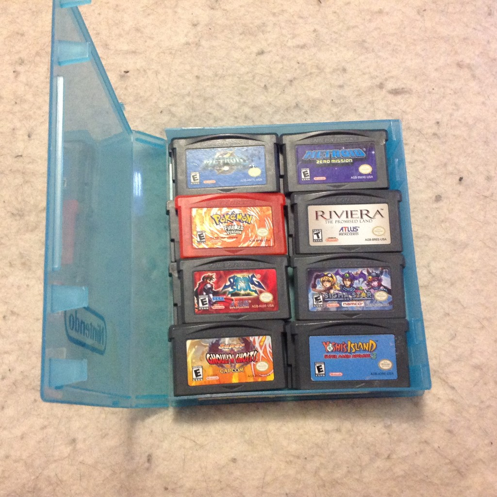 Gameboy Advance Display Beleuchtung My New Gameboy Gbc And Gameboy Advance Game Storage And
