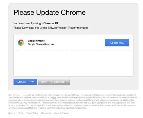 Speed-update.com pop-up