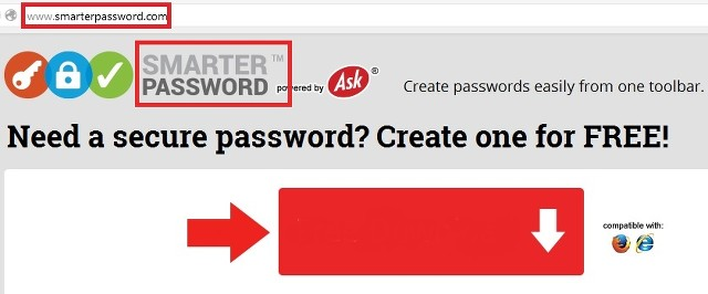 Smarter Password ads