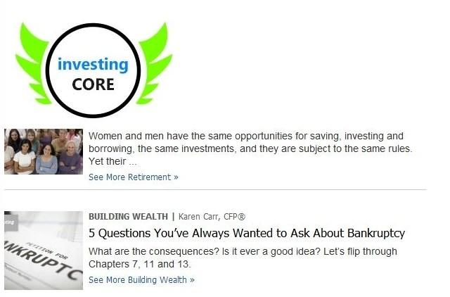 Investing Core Ads