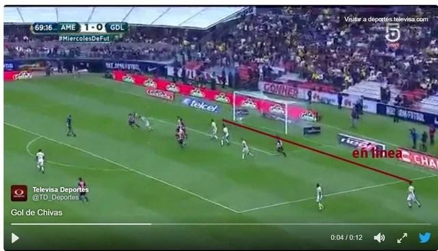 Fue fuera de lugar el gol de pulido for Cuando es fuera de lugar futbol