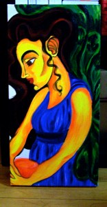 Angel of Charity (Work in Progress) Oil