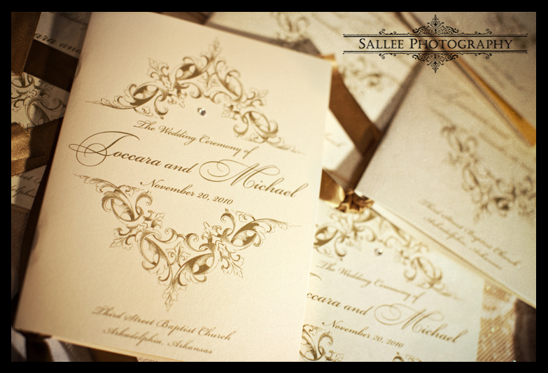wedding programs printed