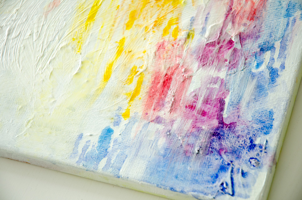 Abstract Watercolor Painting Diy Diy Do It Your Self