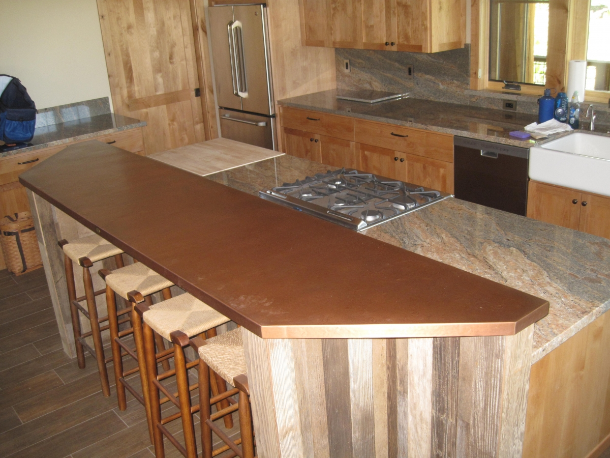 Copper Laminate Countertops Copper Bar Tops Kitchen Bath And Bar Circle City