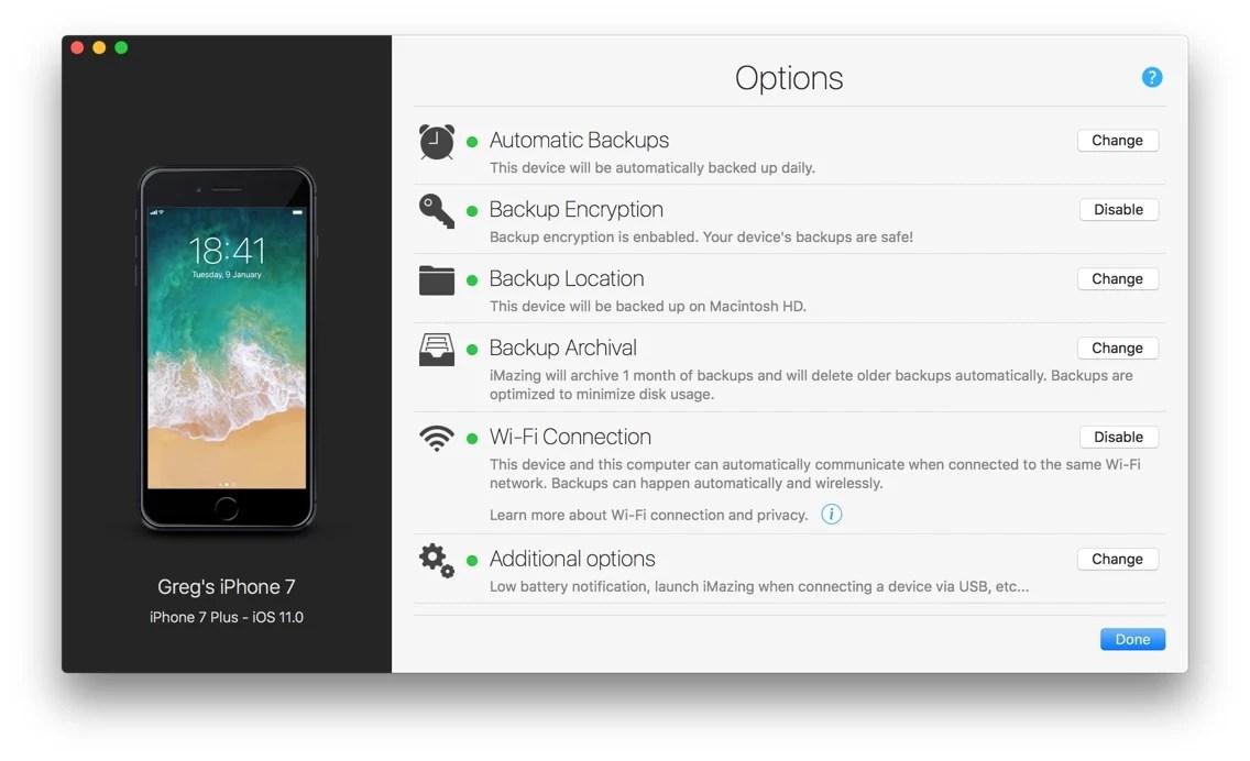 iMazing 23 Introduces Automatic Wi-Fi Backups