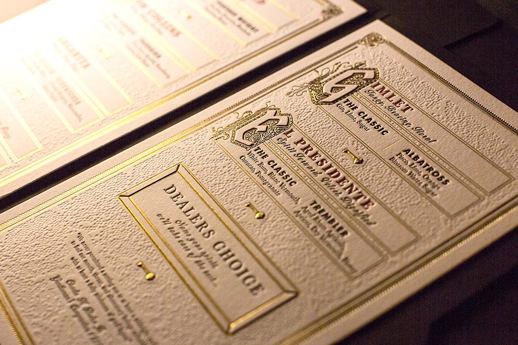 Latest Cocktail Menu Design With Menu Design