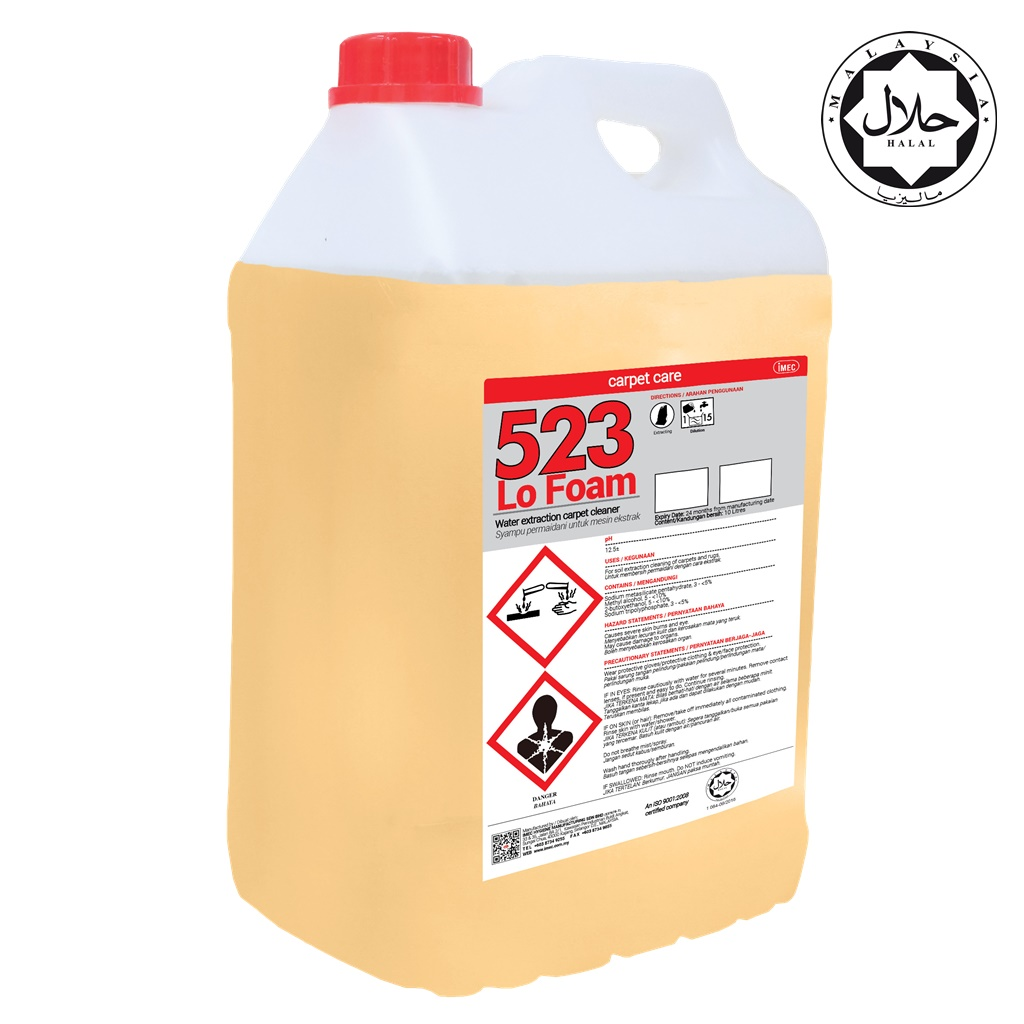 Sofa Foam Cleaner Imec 523 Lo Foam Extraction Carpet Sofa Cleaner 2 X 10l Imec