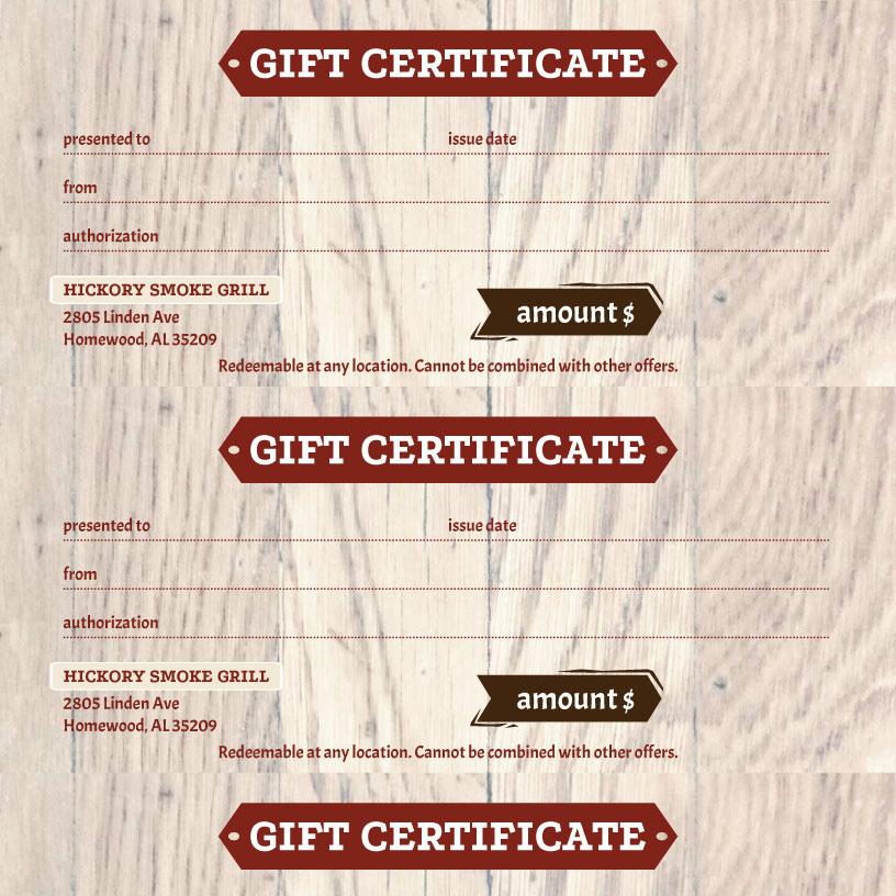 iMenuPro · Restaurant Menu Templates, menu software - gift voucher format sample