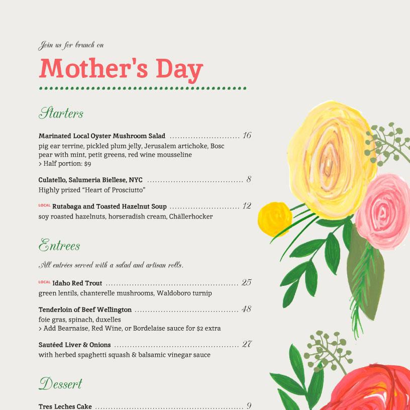 iMenuPro · Restaurant Menu Templates, menu software - sample menu template