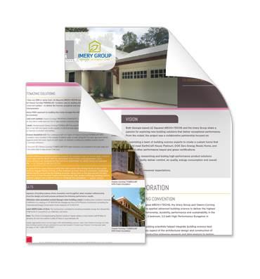 White Paper on our EarthCraft Custom Home - Imery Group Custom Home - White Paper Pdf