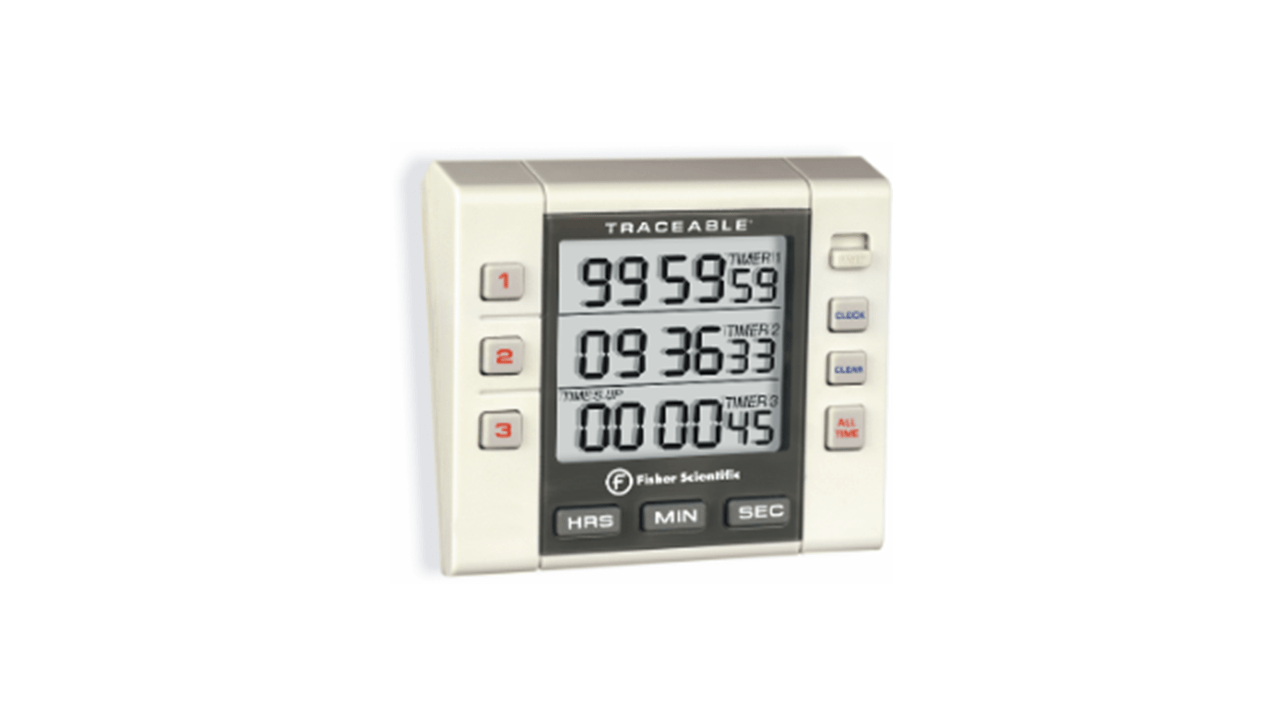 Alarm Timer Timer With Triple Line Lcd