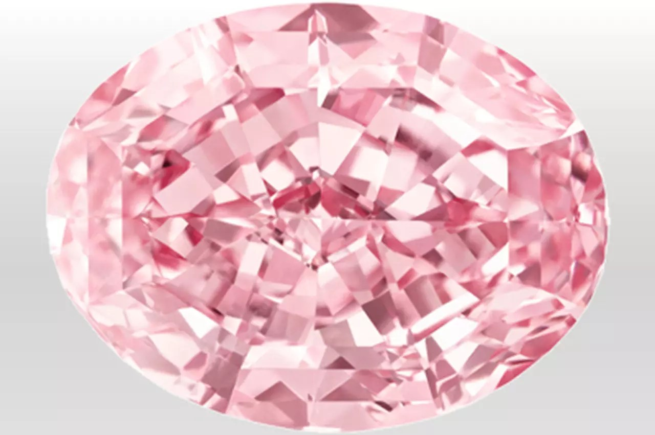 Diamant Rose Le Diamant Le Plus Cher Du Monde