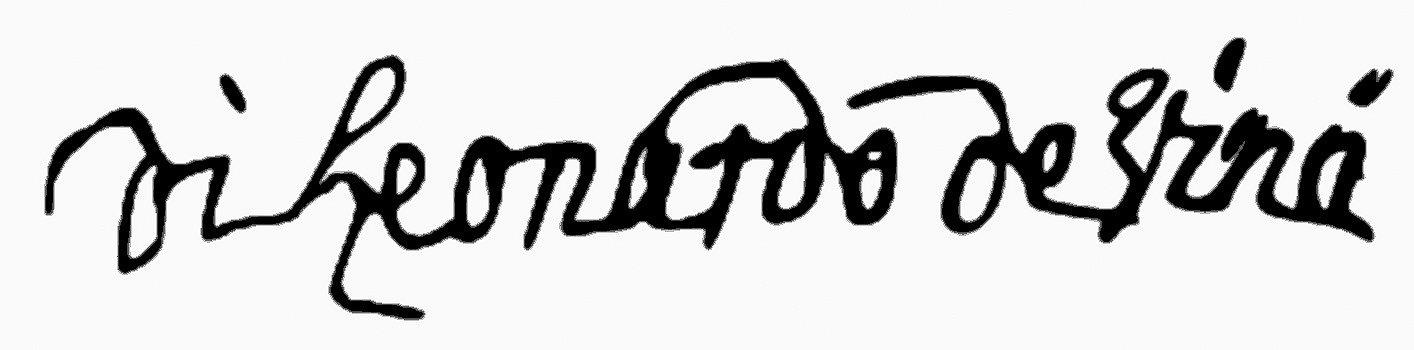 Leonardo Da Vinci Autograph Book Pinterest   Resume Writing Academy  Resume Writing Academy