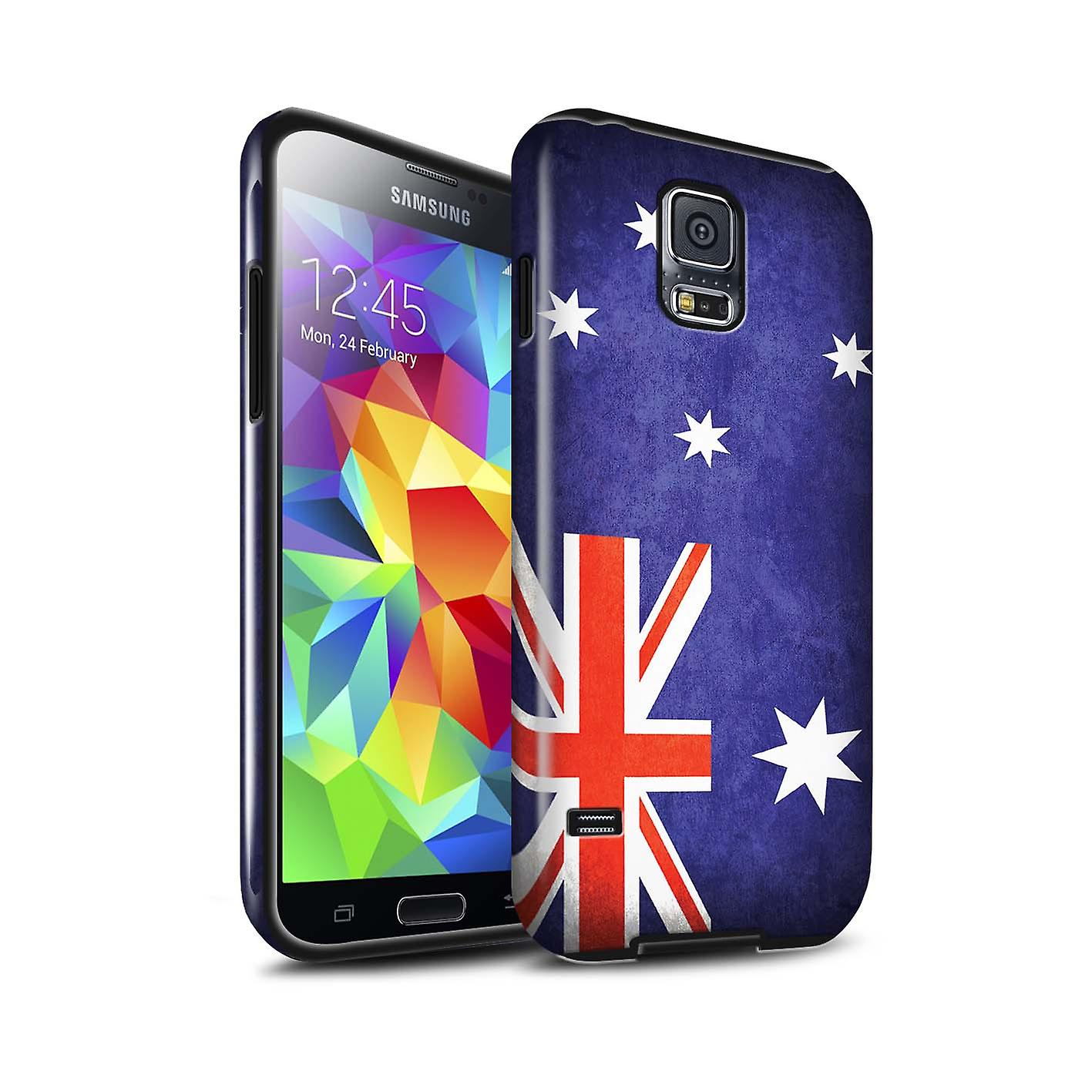 Gloss Australia Stuff4 Gloss Tough Shock Proof Phone Case For Samsung