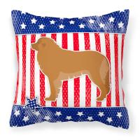 USA Patriotic Leonberger Fabric Decorative Pillow   Fruugo