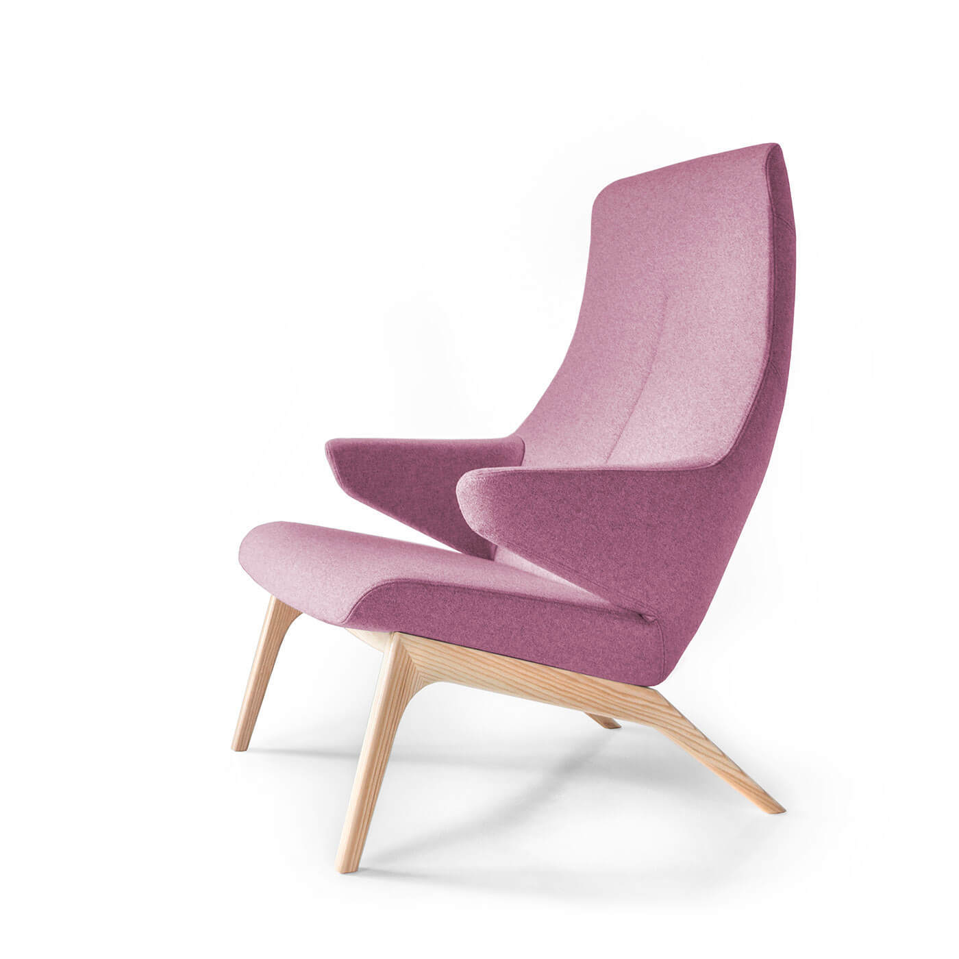 Lounge Sessel Lila Designer Sessel Voog In Lila
