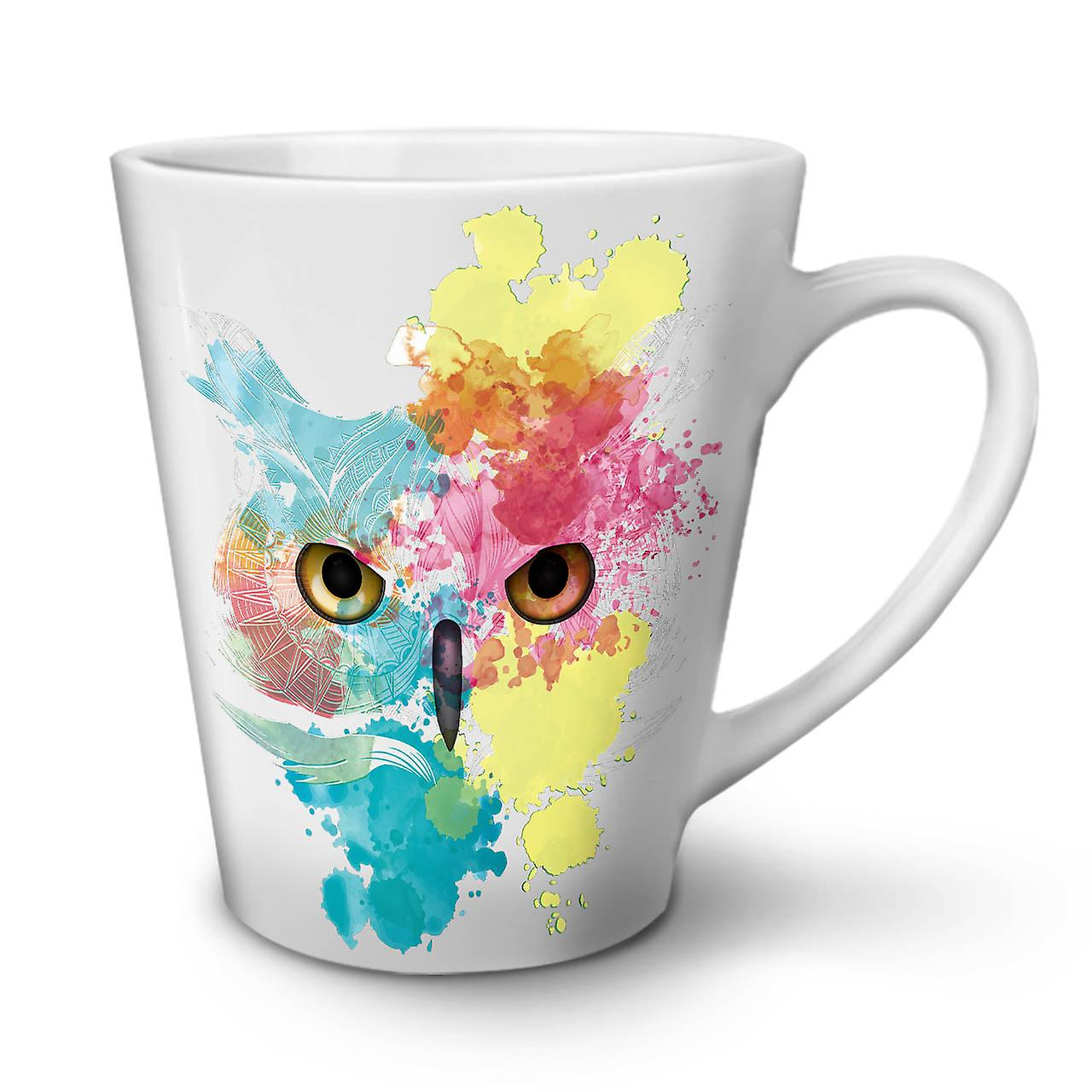 Owl Ceramic Mug Stylish Owl Bird New White Tea Coffee Ceramic Latte Mug 12