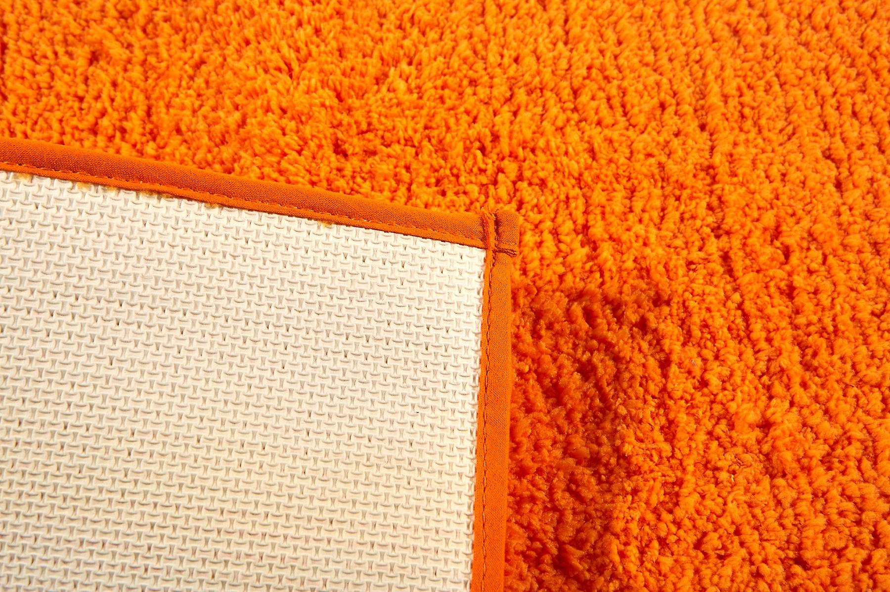 Badteppich Orange Heine Home Badteppich Mikrofaser 45x50cm Orange