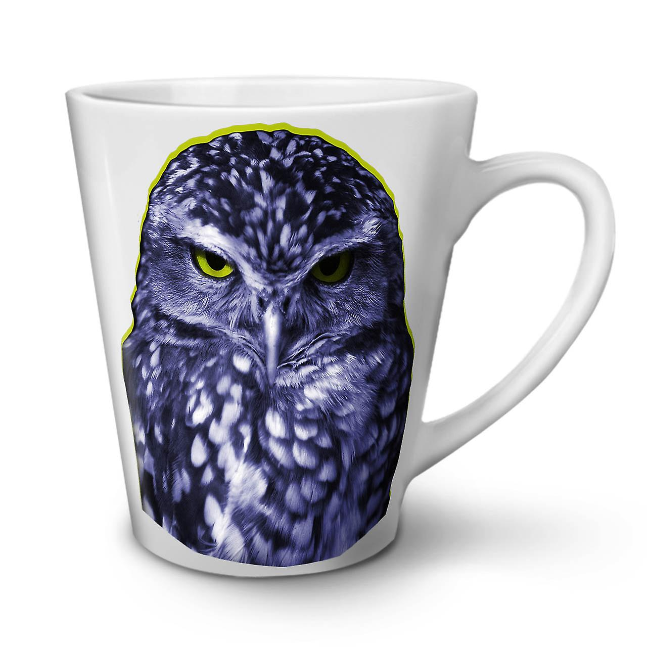 Owl Ceramic Mug Owl Dark Bird Wild New White Tea Coffee Ceramic Latte Mug