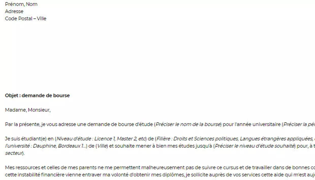 comment justifier parenthese familiale cv
