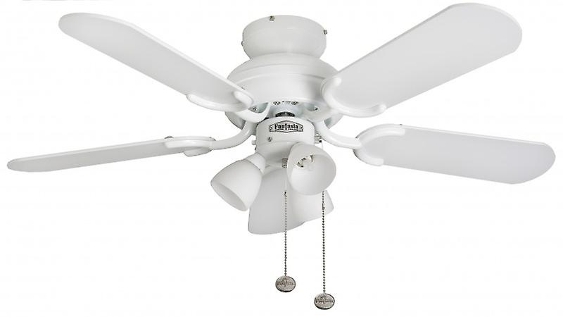 Plafond Fan Amalfi Wit Met Verlichting 91 Cm 36 Inch Fruugo