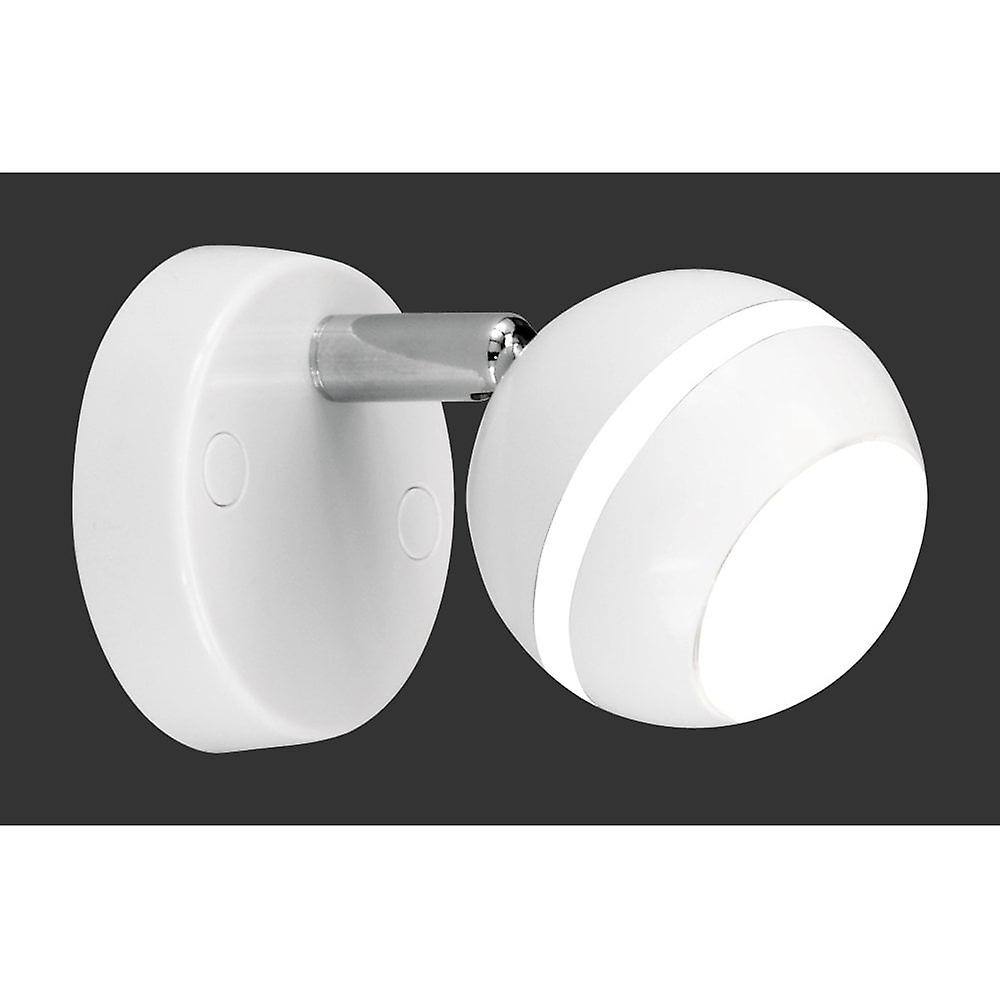 Spot Lampe Trio Lighting Baloubet Young Living White Plastic Spot Lampe Murales