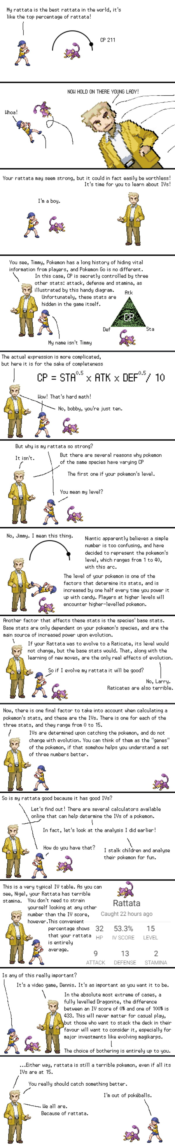 Professor Oak explains IVs in GO