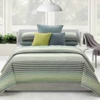 CALVIN KLEIN MALDIVES PALE JADE (3 PC) KING DUVET ...