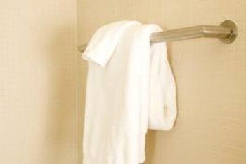 How To Install A Towel Bar In Tile Home Guides Sf Gate
