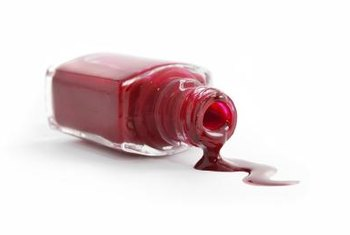 What Can Be Used To Take Red Nail Polish Off Laminate