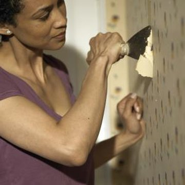 How to Paint Over Wallpaper That Has Been Applied Directly to the Drywall | Home Guides | SF Gate