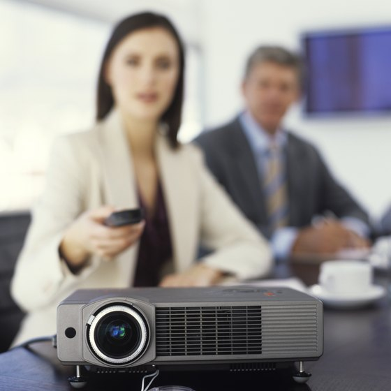 How to Hook Up a Projector to a Laptop via USB Your Business - presentation projectors