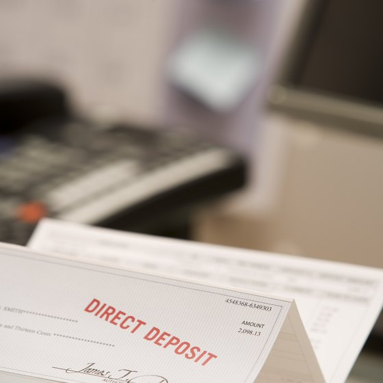 How to Fill Out Payroll Checks Showing Withholding Your Business