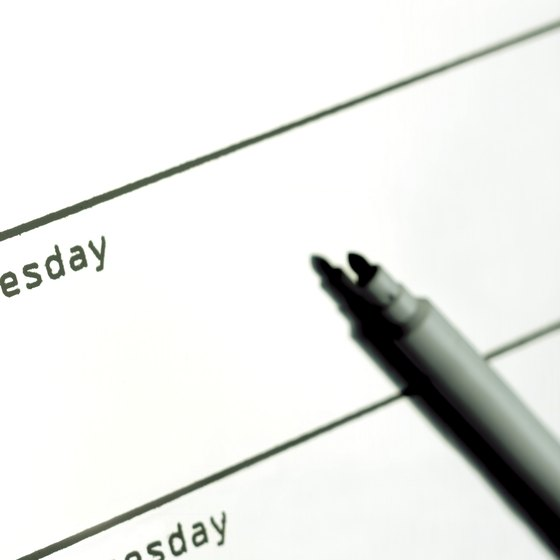 How to Make Schedules in iCal Your Business