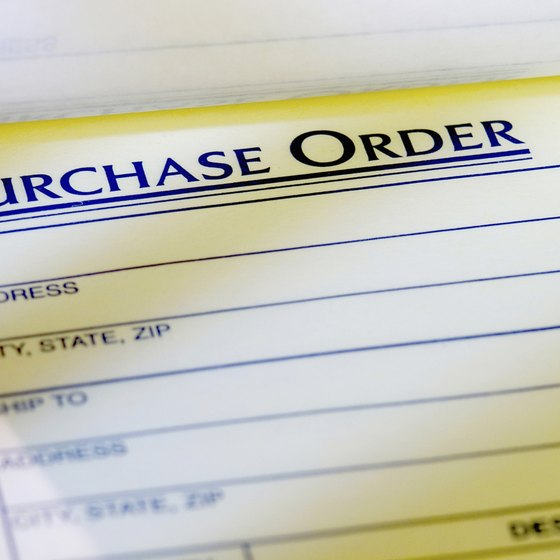 Purpose of a Purchase Order System Your Business