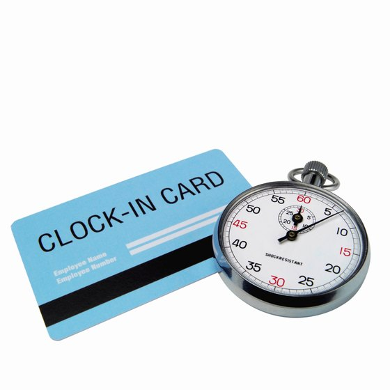 What Is Falsification of a Time Card? Your Business