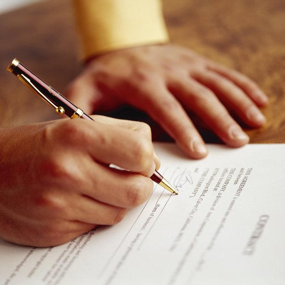 Do Companies Have to Honor Previous Contracts? Your Business