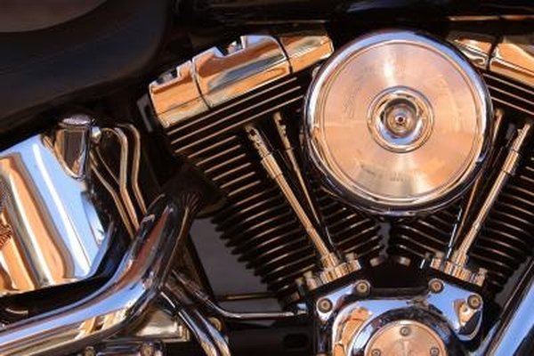 How to Change the Three Oil Compartments on the Harley Davidson Twin