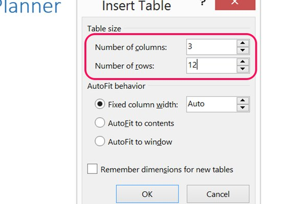How to Make Microsoft Word Budget Planner Templates It Still Works