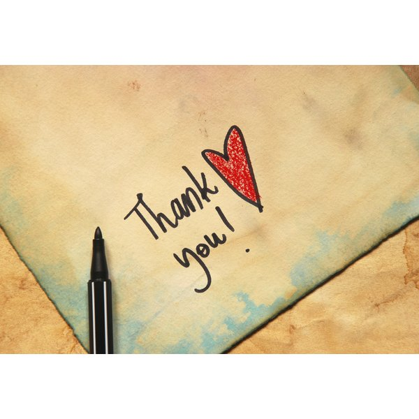 How to Write a Thank You Note for a Dinner Out Our Everyday Life - thank you note