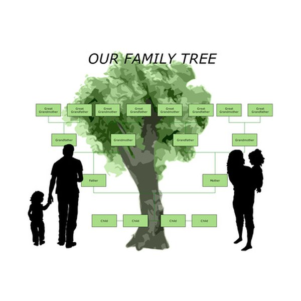 How to Make a Family Tree Using a Free Template Our Everyday Life - free online family tree template