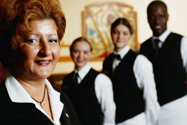 Responsibilities of a Catering Manager - Woman