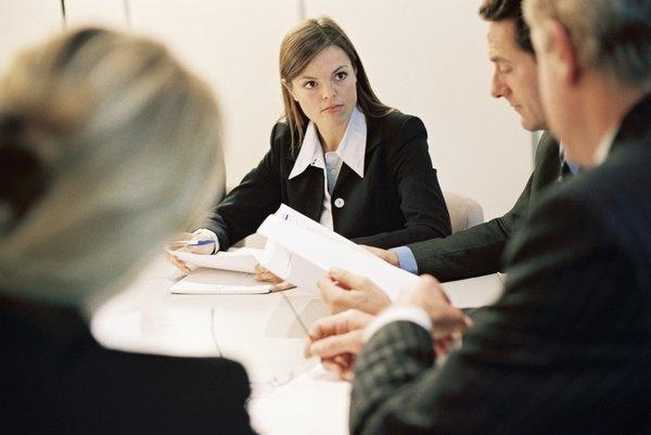 Contract Administration Job Descriptions - Woman
