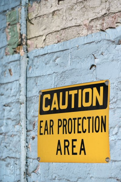 In some workplaces, ears are exposed to dangerous noise levels every day 2