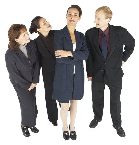A General Job Description for Business Managers - Woman